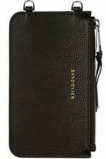 Bandolier Emma Zip Pouch - Black/Silver - Phone Case & Strap Sold Separately