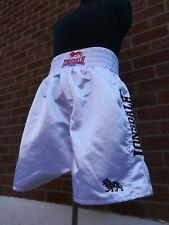Lonsdale Boxing Shorts (white satin)