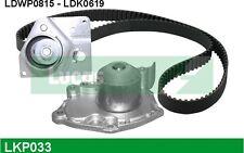 LUCAS Bomba de agua + kit correa distribución RENAULT LAGUNA OPEL VIVARO LKP033