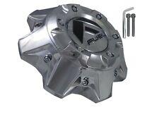 Fuel Offroad Wheels Chrome Wheel Center Cap # 1002-41 / 1002-40 NEW + BOLTS