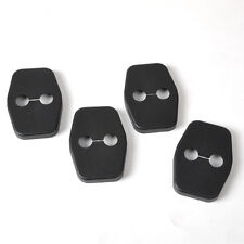 New 4Pcs Car Door Striker Cover Lock Antirust Protector Case for Peugeot Citroen