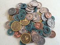 Scythe Metal Coins - Assessories for Scythe Board Game Stonemaier - Free Ship