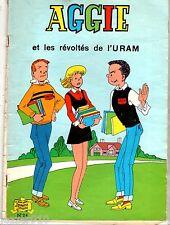 AGGIE n°24 ¤ AGGIE ET LES REVOLTES DE L'URAM ¤ 1977 SPE