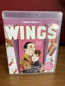 Wings : Masters Of Cinema Blu-ray + 2 Disc DVD