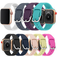 Bunt Armband Gurtband Silikon Watch Band For Apple Watch Series 5 4 3 2 iWatch