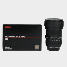 Sigma 12-24mm f/4.5-5.6 II DG HSM Lens For Nikon Mount