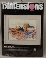 Dimensions Crewel Embroidery Kit Linda Gillum Santa Fe Still Life Vintage New