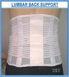 LUMBAR BACK SUPPORT aids posture control