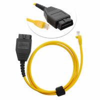 PourBMW Série F ENET 2M Câble Ethernet à OBD Interface + E-SYSJE VIENS Codage