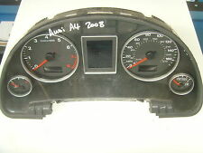 AUDI A4 B7 INSTRUMENT CLUSTER CLOCKS  8E0920951N  (2008)