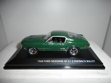 Ford Mustang GT 2 2 fastback 1968 Bullit Road Signature 1 43