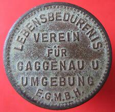 Old Rare Deutsche token -Gaggenau -Lebensbedurfnis 5 pf -10770.2 mehr am ebay.pl