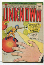 Adventures Into The Unkown #120 FN Climb Aorard The Devil Drill   ACG Comics SA