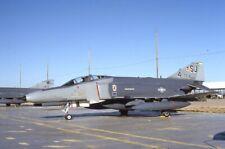F1699 Usaf F4E Phantom 720167 35Mm Kodachrome Aircraft Slide November 1990