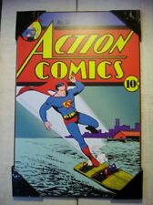 DC Comics Wooden Wall Plaque - Action Comics #25