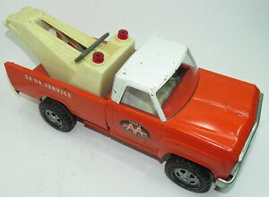 Vintage 1960's Tonka  Orange AA 24HR Service Wrecker Tow Truck