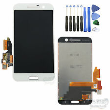 Original HTC One M10 LCD Display Touchscreen Digitizer Komplett Werkzeug Weiß