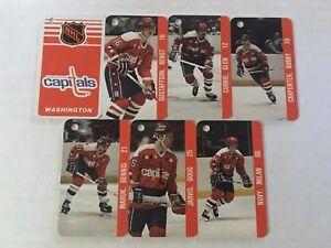Washington Capitals NHL NHLPA Collection Vintage Team Key Chain 1983 Gartner