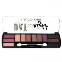 L.A. Colors Makeup Long Lasting Day to Night Eyeshadow Palette CES429 Daybreak
