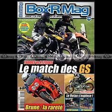 BOX'R MAG N°20 BMW R51/2 F800 & R1200 GS R1150 RT CR&S VUN 650 BRUNE K1 G650 X