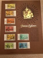 World of Stamps -- Stamps of Hungary (Famous Explorers),MNH