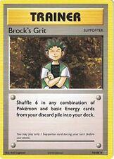 Pokemon TCG XY EVOLUTIONS : BROCK'S GRIT 74/108 UNCOMMON X 4