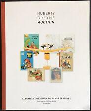 Huberty Breyne Catalogue of Sale Bands Comics 10 June 2018 Excellent Condition