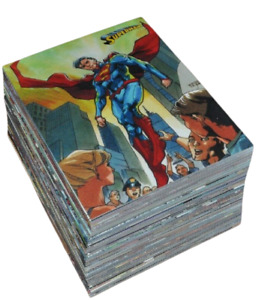 Complete Set of 62 Cards - 2013 DC Comics Superman The Legend Trading Cards