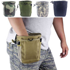 Military Tactical Magazine Utility Dump Pouch Molle Drop Military Ammo Bag