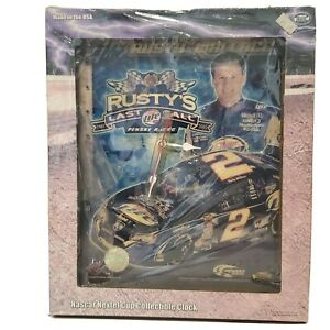 Rusty Wallace Nascar Nextel Cup Series Collectible Wall Clock
