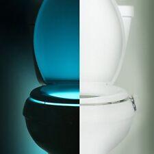 IllumiBowl LED Toilet Night Light Motion activated, See Video, (ASO Shark Tank)