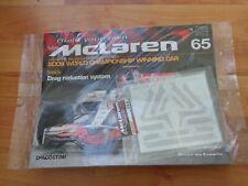 1/8 DEAGOSTINI BUILD YOUR OWN MCLAREN MP4/23 LEWIS HAMILTON 2008 F1 CAR ISSUE 65