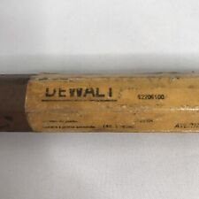 "Dewalt DW5770 17 3/4"" Bull Point Bit 3/4"" Smooth Shank"
