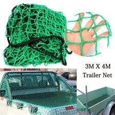 3m x 4m Cargo Net Strong Heavy Duty Netting Garden Scramble Car Trailer Truck UK