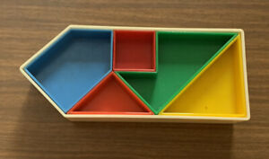 "Milton Bradley VINTAGE 1969 ""One Way"" Puzzle / Game - Nice !!!"