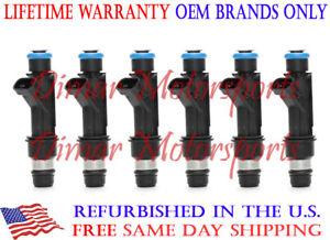 Lifetime Warranty-3.5L 3.2L V6 Rodeo Amigo OEM GENUINE DELPHI Fuel Injector Set