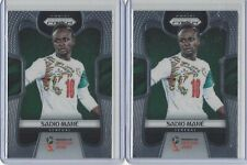 2018 Panini Prizm World Cup #282 Sadio Mane Senegal (Lot of 2)