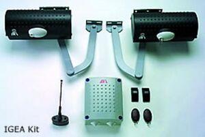 BFT IGEA 230V P-KIT Gate Automation Kit