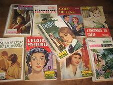 Lot de 9 Livres de poche Collection INTIMITÉ