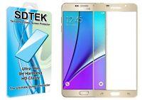 SDTEK Vetro Temperato Pellicola Protettiva per Samsung Galaxy A5 2016 (Oro)