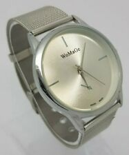 WoMaGe Ladies Stainless Steel Fashion Watch Swiss Made