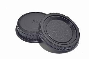 Pentax K Camera Body Back Cap Set Rear Lens Cap