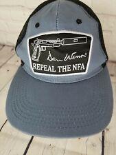 Dan Wesson Firearms Repeal The NFA Basebal Cap Strapback Mesh Truckers Hat Gun