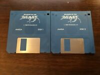Amiga Shadow of the Beast Game Psygnosis 2 Disks 1989 Commodore Good Condition