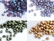 7x4mm Rondelle Beads 30pcs Czech Glass Faceted Beads Rondo Pony Beads 10 COLORS