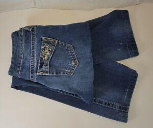 Ariat Amber Denim Womens Distressed Jeans Size 26 S  28 x 30  B53-1359