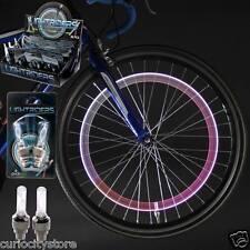 set luces 2x Led para Tapon de valvula Bici Llanta Rueda de Coche Moto Bicicleta