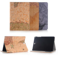"""Map Leather Case Shockproof Cover For Samsung Tab A 3 Lite 4 S S2 S3 10.1 9.7 8"""""""