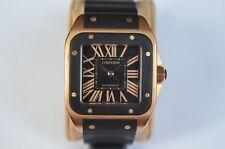 Cartier Santos 100 Automatic,Solid Gold.  Ref: 2792