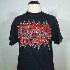 MORBID ANGEL Band Logo Pentagram T-Shirt Black Men's size XL (NEW)